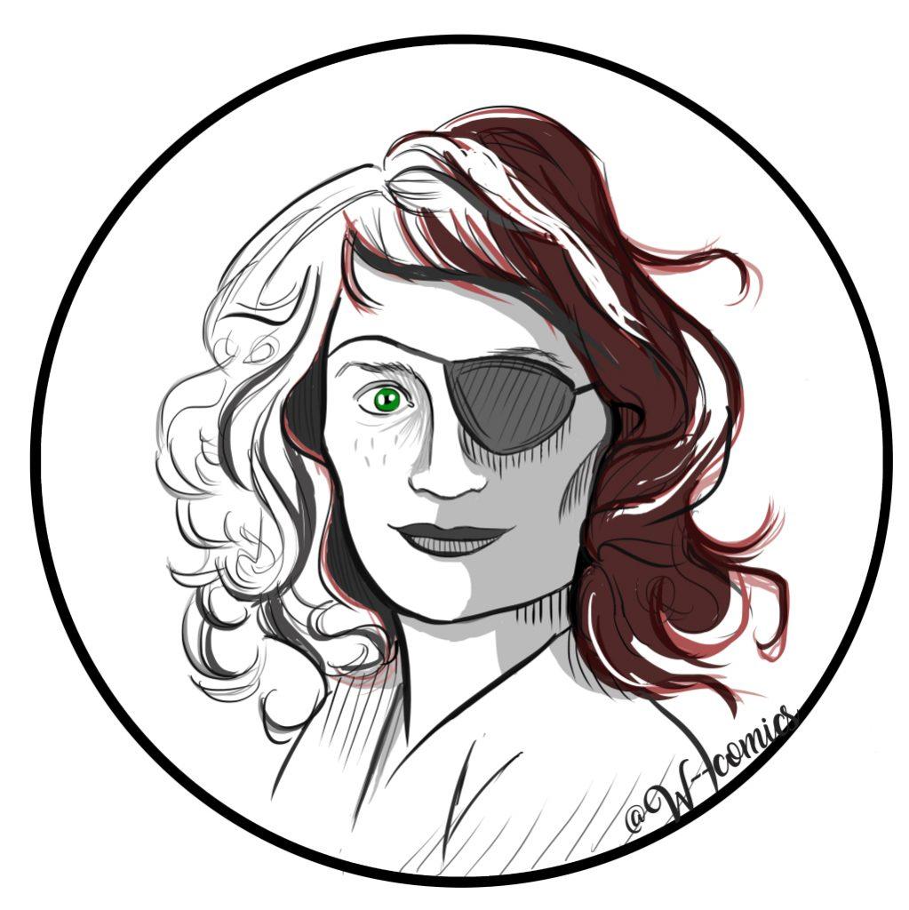 wendy-robie-avatar twin peaks fanart portrait